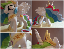 Princess Celestia Details by mamaapple