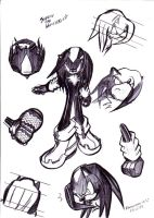 New Shadow Sketches by darkspeeds