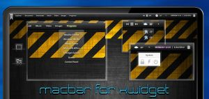 Macbar for XWidget by boyzonet