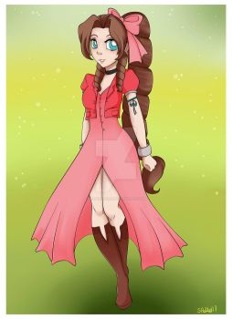 Aerith by magicpotion