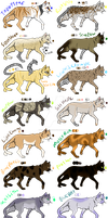 Enhanced High Ranked Cat Adopts (FREE 8/14 OPEN) by Zen-Violetbone