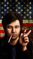 BIll Hicks - Life Is Just A Ride by HalHefnerART