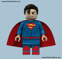 Lego Superman - New 52 by seancantrell