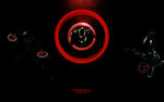 Tron Legacy-Rinzler Wallpaper by TheRenegade01