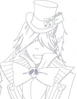 Undertaker in Wonderland by SoullessRiku
