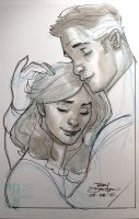 Sue and Reed Richards Sketch by TerryDodson