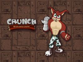 Crunch Bandicoot Wallpaper by E-122-Psi