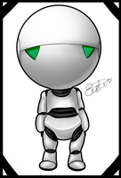 Marvin - HG2TG by kapeishi