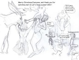 Merry Chirstmas everyone by rainhorse