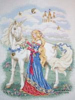 Cross Stitch: Milady by DragomirEmil