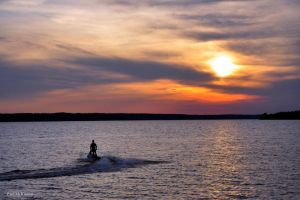 Sea-Dooing Off Into The Sunset by PaulMcKinnon