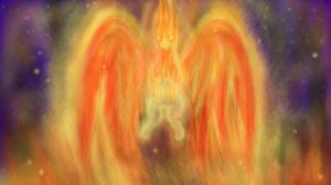 Griffin-headed Phoenix by OnlyWho