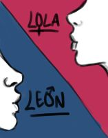 LEON and LOLA by lawlietlk