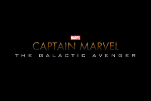 Marvel's CAPTAIN MARVEL - LOGO by MrSteiners