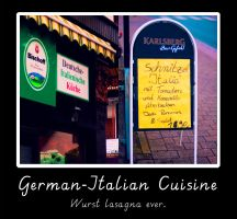 German-Italian Cuisine by Mezzochan