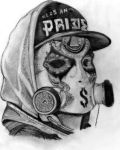 Hollywood Undead - J Dog (new mask) by deathlouis