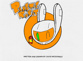 Plastic Robot and Double A by PLASTIC-ROBOT-COMIC
