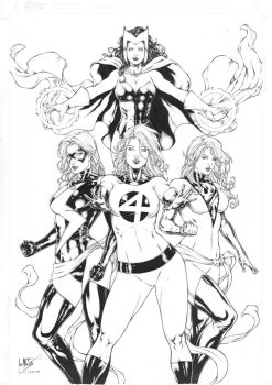 Marvel Girls by Leomatos2014
