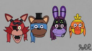 Five nights at Freddy's (TMNT 2014 style) by TheRandomGirlXD