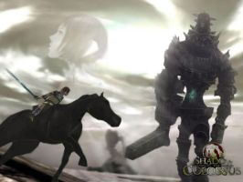 Shadow of the Colossus by rockleefan