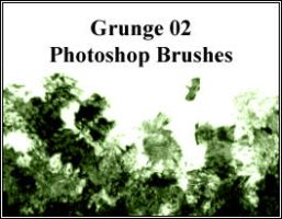 Grunge02 BRUSHES by dangerous-pea