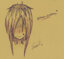 Emo Chan by lost-sin