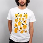 Foxes tshirt by Teagle