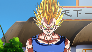 Majin Vegeta by Dark-Crawler