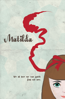 Retro-Inspired Poster for film Matilda by annanyang