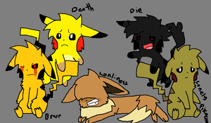 BRVR, Death, Lonliness, Die, and The Lonely Pika by BRVRandLonliness