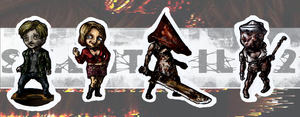 Silent Hill Keychains-Series 2 by Anti-puff