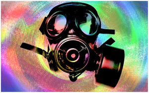 Gas Masks in Paradise by cheapexposure