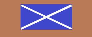 Scotland's flag by JorwayBlacknight