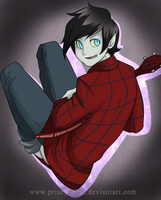 Marshall Lee by Bitter-Cherry