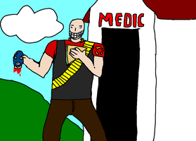 Medic was Spy ! by Paintenderp