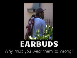 Earbuds by XDTheSnivy