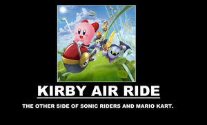 Kirby Air Ride Demotivational by thekirbykrisis