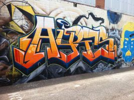 Alleyways 9 by PerthGraffScene