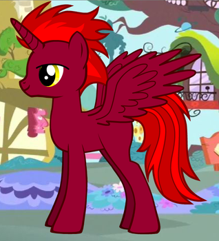 Prince Crimson Flame by DragonLord99