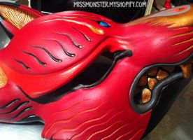 Kitsune mask painted edition 1 sneak peek by missmonster