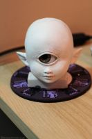 Astraia head WIP by foolbot