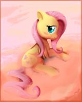 FlutterShy by Kitchiki
