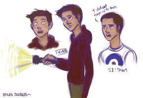 Stiles doodles by ggns