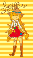 Scarecrow Princess: AT OC by sonicat62
