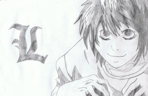 L Lawliet by dawnleapord