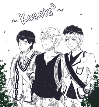 The Kanekis United by Cristinkn