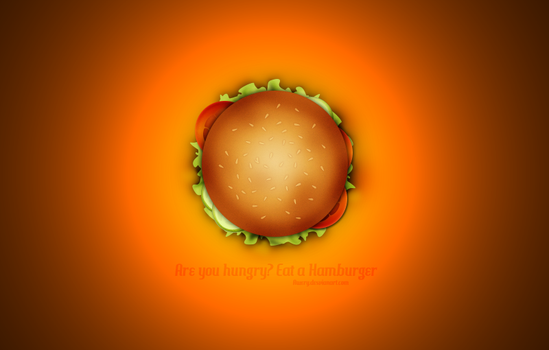 Are you hungry? Eat a Hamburger by Awery