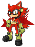 Sonic Forces BUDDY  Custom Character by Waito-chan