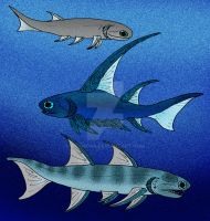 Early Devonian Acanthodians by avancna