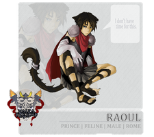 Valea Regilor App- Prince Raoul by CountessMc